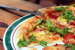 Pedazo de pizza Imagenes de archivo