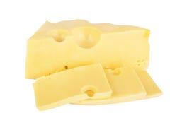 Pedazo de queso Fotografía de archivo