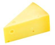 Pedazo de queso Imagenes de archivo