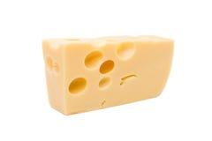 Pedazo de queso Foto de archivo libre de regalías