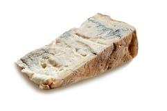 Pedazo de queso Gorgonzola Foto de archivo