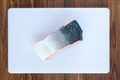 Pedazo de salmones Fotografía de archivo
