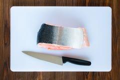 Pedazo de salmones Foto de archivo