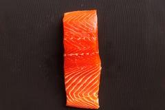 Pedazo de salmones Imagen de archivo libre de regalías