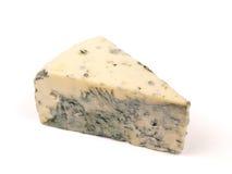 Pedazo de sheese azul suizo Imagen de archivo libre de regalías