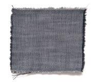 Pedazo de tela con la franja Foto de archivo libre de regalías