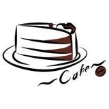 Pedazo de torta libre illustration