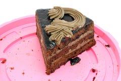 Pedazo de torta Fotos de archivo