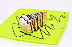 Pedazo de torta de maíz Fotografía de archivo