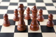 pedazo de un juego del ajedrez Fotos de archivo