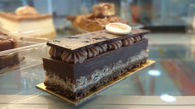 Pedazo del 'Ø de la torta Ù·'اتو DE Ø© Ù DEL ¹ DE Ø Imagen de archivo libre de regalías