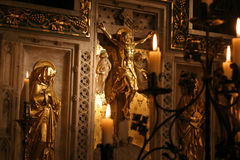 Pedazo del altar Imágenes de archivo libres de regalías