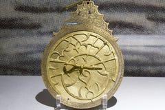 Pedazo del astrolabio Imagen de archivo