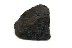 Pedazo del carbón Foto de archivo