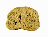 Pedazo del pan imagen de archivo libre de regalías