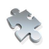 Pedazo del rompecabezas 3d ilustración del vector