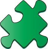 Pedazo del rompecabezas ilustración del vector