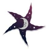 Pedazo lunar de cielo Foto de archivo libre de regalías