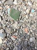 Pedazo o pedazo del cemento del edificio viejo Foto de archivo