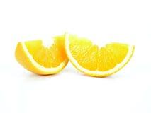 Pedazos anaranjados imagenes de archivo