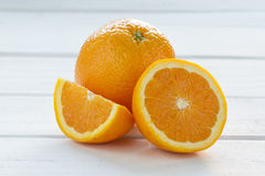 Pedazos anaranjados Foto de archivo libre de regalías