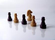Pedazos de ajedrez Fotos de archivo libres de regalías