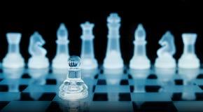 Pedazos de ajedrez Foto de archivo
