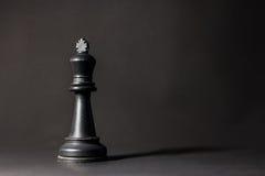 Pedazos de ajedrez plásticos Fotografía de archivo