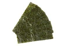 Pedazos de alga marina secada sazonada Fotografía de archivo libre de regalías