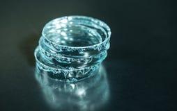Pedazos de cristal Fotografía de archivo libre de regalías