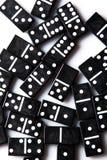 Pedazos de dominó Foto de archivo libre de regalías