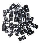 Pedazos de dominó Fotografía de archivo libre de regalías