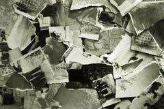 Pedazos de fotos viejas Imagen de archivo libre de regalías