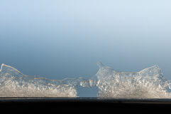 Pedazos de hielo fotografía de archivo libre de regalías