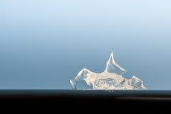 Pedazos de hielo Imagen de archivo libre de regalías