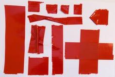 Pedazos de la cinta aislante imagen de archivo libre de regalías