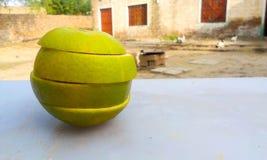 Pedazos de la fruta Imagen de archivo libre de regalías