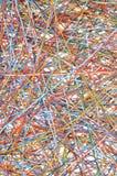 Pedazos de los alambres Fotos de archivo