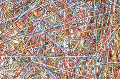 Pedazos de los alambres Imágenes de archivo libres de regalías