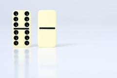 Pedazos de los dominós Imagen de archivo