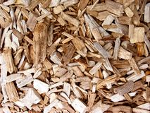 Pedazos de madera Foto de archivo libre de regalías