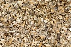 Pedazos de madera Fotografía de archivo