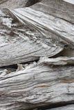 Pedazos de madera tajados, verticales Imagen de archivo