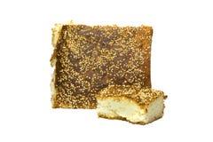 Pedazos de pan Imagen de archivo libre de regalías