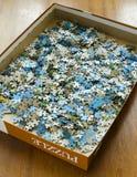 Pedazos de rompecabezas Foto de archivo libre de regalías