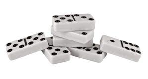 Pedazos del dominó Imagenes de archivo