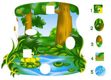 Pedazos del juego Imagenes de archivo
