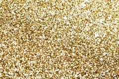 Pedazos del oro de confeti. imágenes de archivo libres de regalías