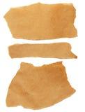 Pedazos del papel del arte imagen de archivo libre de regalías