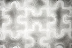 Pedazos del rompecabezas del hielo Imagen de archivo libre de regalías